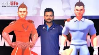 Virat Kohli launches his 3D character, website and logo
