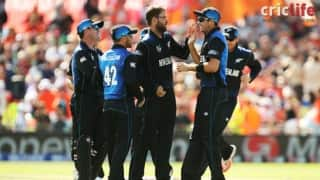Live updates and pick of the tweets: ICC Cricket World Cup 2015, New Zealand vs Bangladesh, Hamilton
