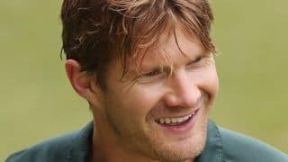 India vs Australia 1st Test at Adelaide: Shane Watson using Phil Hughes' locker