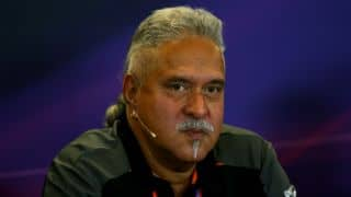 British GP 2016: Mallya makes public appearance at Silverstone