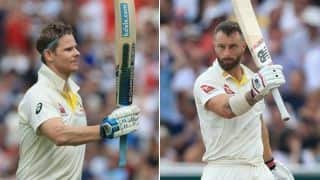 Ashes 2019, 1st Test: Smith, Wade tons leave England with record chase to get
