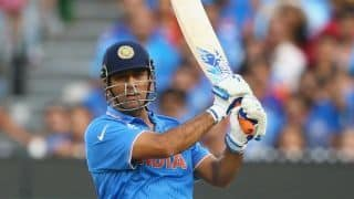 MS Dhoni is champion player, should remain in team, says Sourav Ganguly