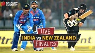 Live cricket scores, India vs New Zealand, 3rd T20I at Thiruvananthapuram: Virat Kohli and co. win series 2-1