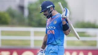 Virat Kohli blames dropped catches for defeat vs West Indies in one-off T20I