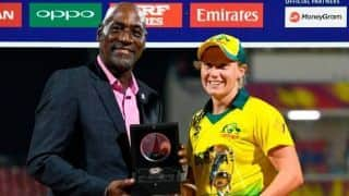 2018 ICC Women's World T20: Alyssa Healy chosen player of the tournament