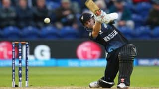 ICC World T20 2016: Kane Williamson's knock leads New Zealand to 169 for 8 vs England in warm-up match at Mumbai