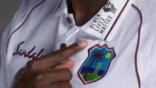 England cricket team will join West Indies side in wearing Black Live matters logo on shirt collars during the Test Series