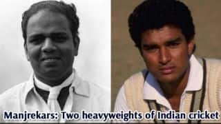 Vijay Manjrekar and son Sanjay amongst most prolific father-son combinations in Test history