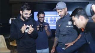 Team India visits Virat Kohli's restaurant Nueva ahead of 1st T20I against New Zealand