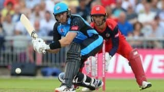 Vitality T20 Blast: Martin Guptill smashes hotel window during whirlwind 86, Alex Carey stars on Sussex debut