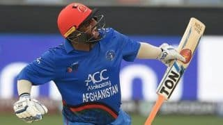2nd ODI: Mohammad Shahzad century fires Afghanistan to thumping 126-run win over Ireland