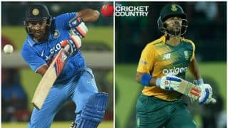 Rohit Sharma, JP Duminy set tone for historic tour