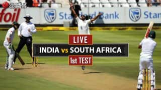 Live Cricket Score, India vs South Africa, 1st Test, Day 4 at Cape Town: SA take 1-0 lead