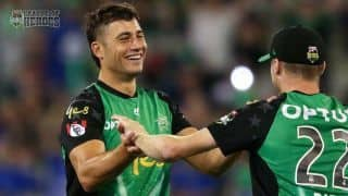 Big Bash League: Marcus Stoinis the hero again as Melbourn Stars wins over Birsbane Heat