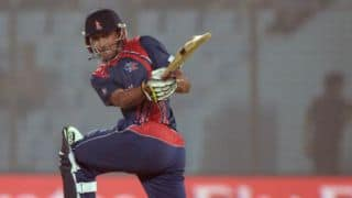UAE win World Cricket League Division II, beat Nepal by 7 runs despite Khadka's ton