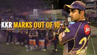 KKR  in IPL 2017: Marks out of 10 for Gambhir's Knights