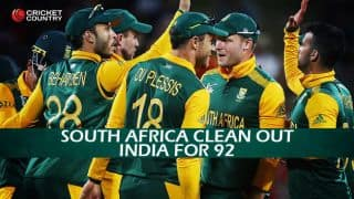 India shot out for 92 against South Africa in 2nd T20I at Cuttack