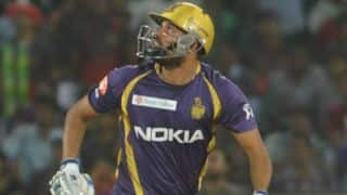 Yusuf Pathan takes Kolkata Knight Riders to second spot with whirlwind knock against Sunrisers Hyderabad in IPL 2014