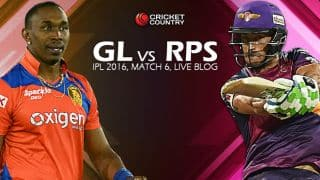GL 164/3 in Overs 18 | Live Cricket Score Gujarat Lions (GL) vs Rising Pune Supergiants (RPS), IPL 2016, Match 6 at Rajkot: Gujarat win by 7 wickets