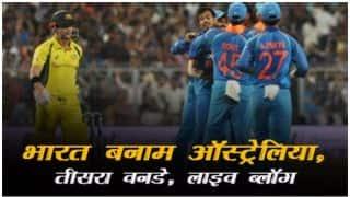 भारत ने 5 विकेट से इंदौर वनडे जीत सीरीज पर कब्जा किया