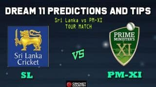 SL vs PM-XI Dream11 Team Sri Lanka vs Prime Minister's XI, Tour Match, Sri Lanka tour of Australia – Cricket Prediction Tips For Today's Match SL vs PM-XI at Canberra