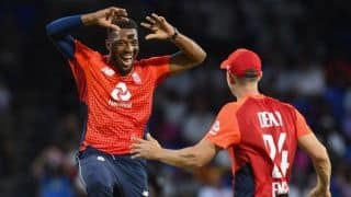 2nd T20I: West Indies crash to record 45 all out, surrender series to England