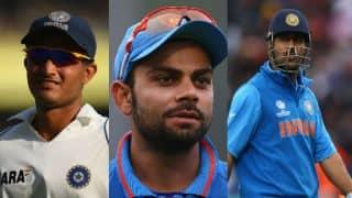 Ganguly, Dhoni, Kohli — The 183 connection