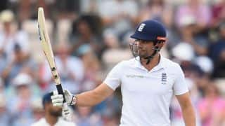 Alastair Cook crosses David Gower as third-highest Test run-getter for England; goes past 2,000 runs as captain