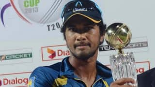 ICC World T20 2014: Dinesh Chandimal blames dew for loss against England