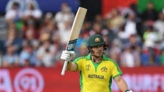Cricket World Cup 2019: Warner was struggling, but he hung on: Aaron Finch