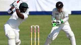 Donald Tiripano, Prince Masvaure lift Zimbabwe to 164 against New Zealand on Day 1