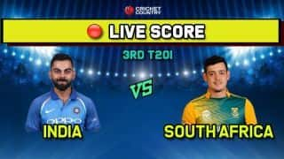 India vs South Africa, IND vs SA, 3rd T20I LIVE: Bowlers come to the party as South Africa limit India to 134/7 in Bengaluru