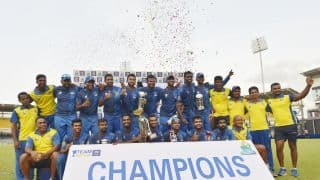 Galle win Sri Lanka Super Four Provincial Limited-Overs Tournament