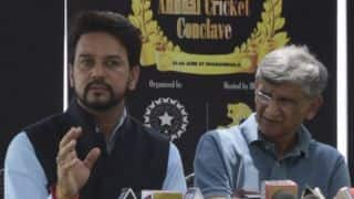 Supreme Court removes Anurag Thakur, Ajay Shirke from BCCI