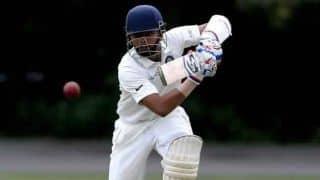 पृथ्वी और मयंक ने जड़ा धमाकेदार शतक, पहले विकेट के लिए जोड़े 277 रन
