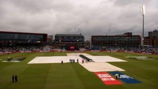 World Cup 2019: Rain pushes semi-final into reserve day with New Zealand 211/5