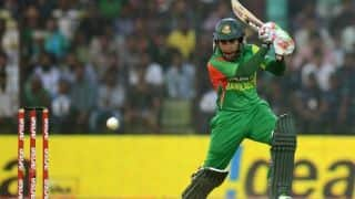 India vs Bangladesh 1st ODI: 15th ODI fifty for Mushfiqur Rahim; score 118/3 in 27 overs
