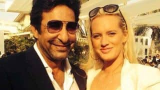 Wasim Akram spends quality time with wife Shaniera and two sons in Australia
