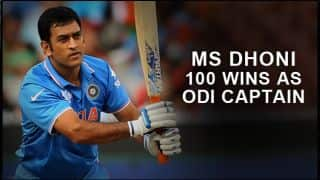 MS Dhoni wins 100th match as captain in ODIs during India-Bangladesh match in ICC Cricket World Cup 2015