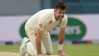 James Anderson handed demerit point for showing dissent
