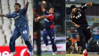 IPL: Bolwers who took Hat-tricks in Indian Premier League