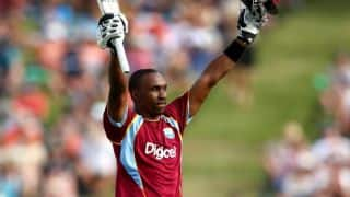 Dwayne Bravo's ton against NZ in 5th ODI
