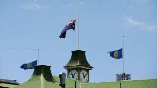 Phil Hughes death: Australia flags lowered to half-mast on Sydney Harbour Bridge