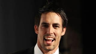 Mitchell Johnson speaks after winning Allan Border medal