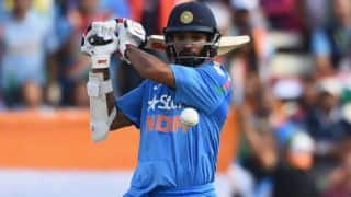 Shikhar Dhawan becomes fastest batsman to complete 1000 runs in ICC 50 over Tournament