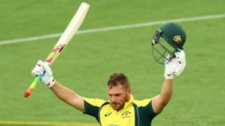 Australia manage 293 for 6 despite Finch's rampage against India in 3rd ODI