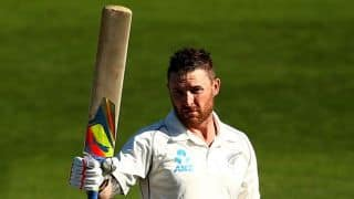 Brendon McCullum says he is not superstitious despite refusing to change old bat