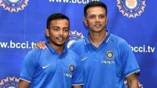 Rahul Dravid bats for the need of alternative career options for young cricketers