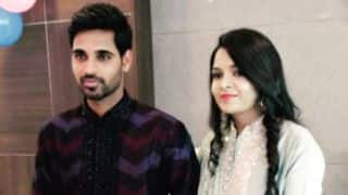 Photo: Bhuvneshwar Kumar gets engaged; shares an emotional message for his fiancée
