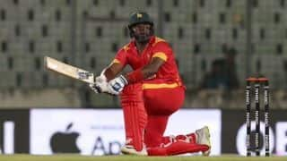 Hamilton Masakadza stars in his farewell match as Zimbabwe beat Afghanistan